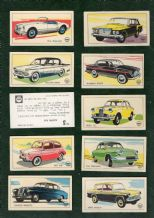 TRADE/ cigarette cards Cars of the World 1970 by   Shell Petrol